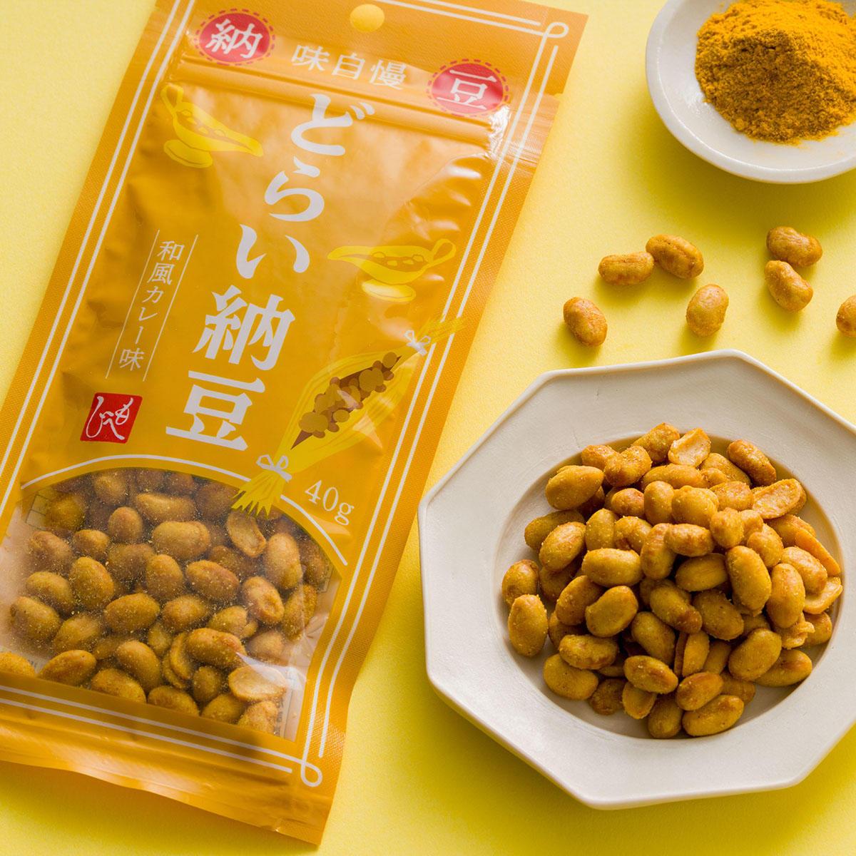 どらい納豆 和風カレー味:どらい納豆 和風カレー味