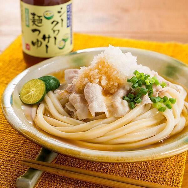 もへじ シークヮーサー麺つゆ 300ml 商品画像