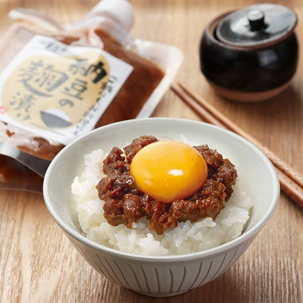 納豆の麹漬け 180g 商品イメージ