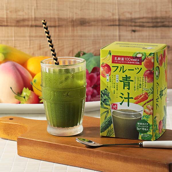 もへじ フルーツ青汁 15p 商品画像