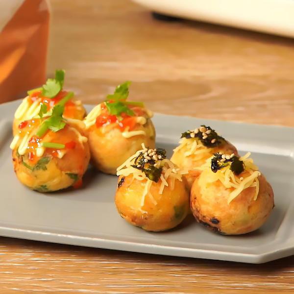 レシピ_米粉たこ焼き_お食事