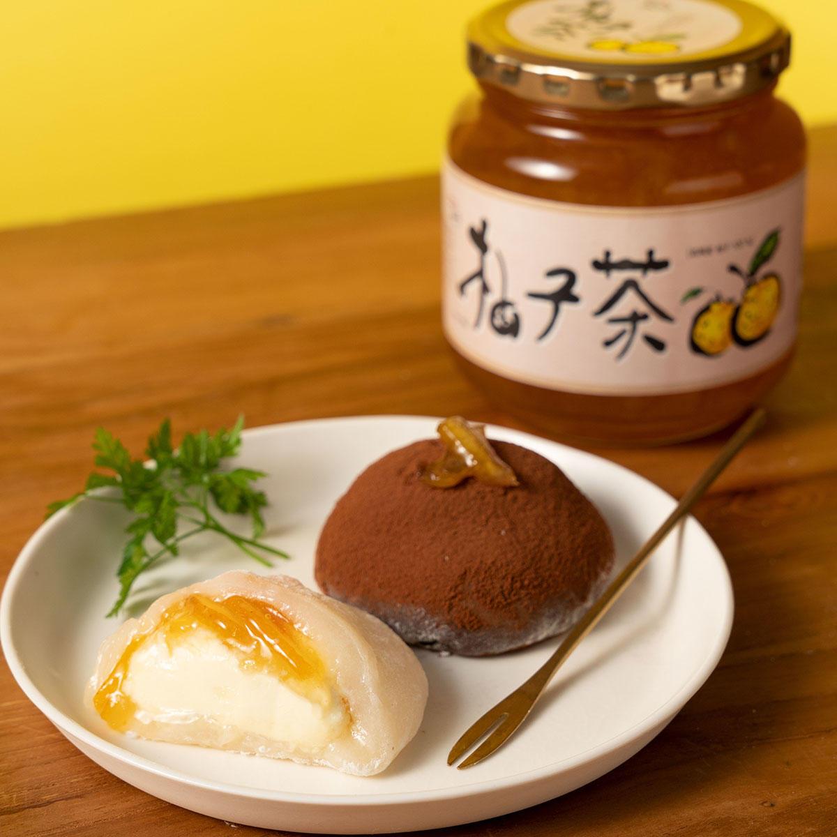 ゆず茶クリームチーズ大福_メイン