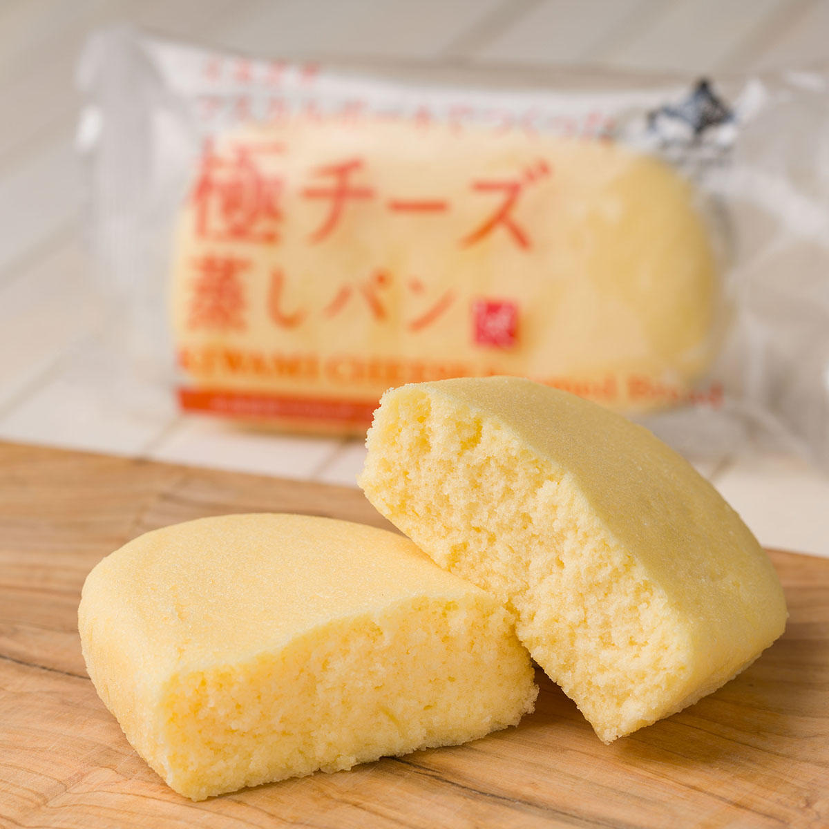 もへじ北海道から_北海道産マスカルポーネでつくった極チーズ蒸しパン