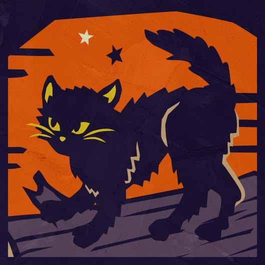 ハロウィン2021_ハロウィンと黒猫の関係
