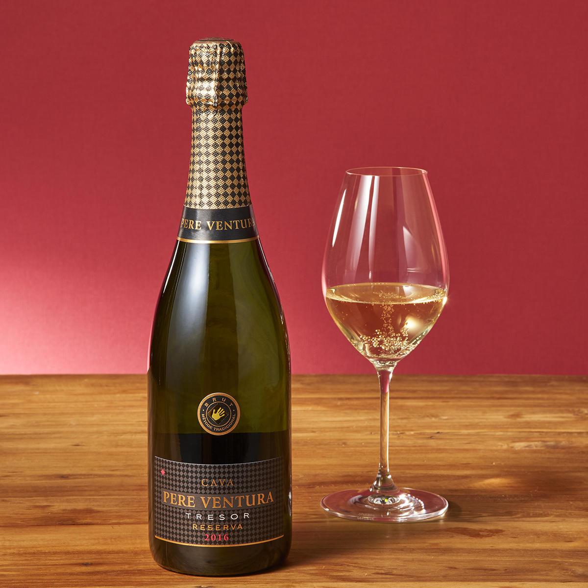 人気のスパークリングワインも決算セール中はお得