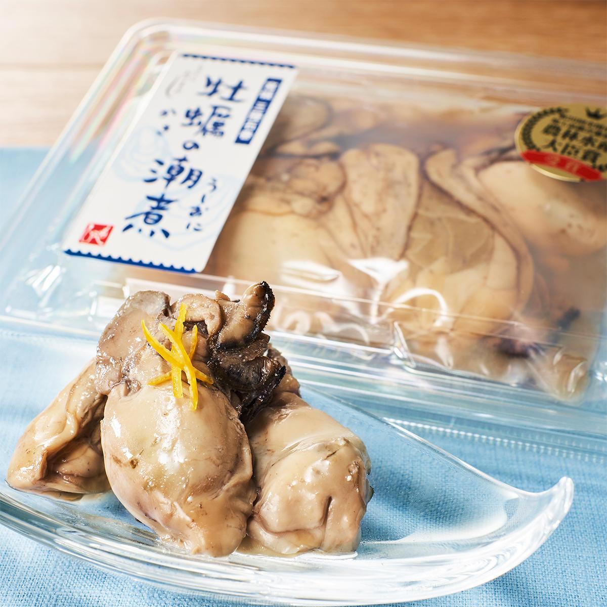 厳選うまいもの‗牡蠣の潮煮